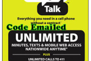 Straight Talk $45 Unlimited Card