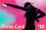 Apple iTunes $10 Gift Card US