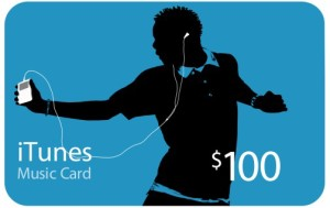 $100 Apple iTunes Gift Card for the US iTunes store