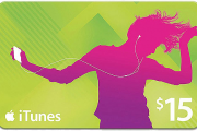 Apple iTunes $15 Gift Card US